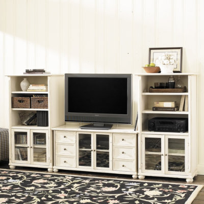 Popular Vetrina 46 Inch Media Trio – Traditional – Entertainment With Naples Corner Tv Stands (View 8 of 10)