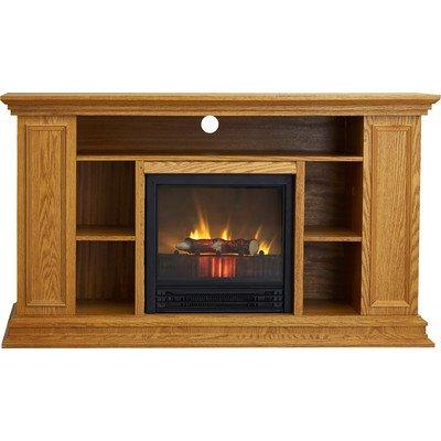 """Portland 50"""" Tv Stand With Electric Fireplace, Light Intended For Most Recent Boston Tv Stands (View 8 of 10)"""