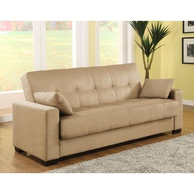 Prato Storage Sectional Futon Sofas Regarding Current Lifestyle Solutions Casual Convertible Microsuede Storage (View 5 of 10)