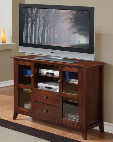 Preferred Collins 54 Inches Wide X 36 Inches High Tall Tv Stand In In Copen Wide Tv Stands (View 4 of 10)