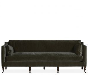 Preferred Strummer Velvet Sectional Sofas Intended For The Madeline Sofa Makes A Statement (View 9 of 10)