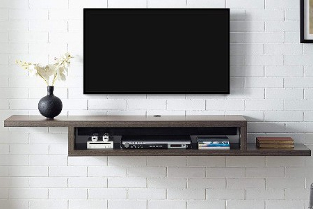 """Preferred The 13 Best Floating Tv Stands Reviews In 2020 – Best Ten For Aaliyah Floating Tv Stands For Tvs Up To 50"""" (View 6 of 10)"""