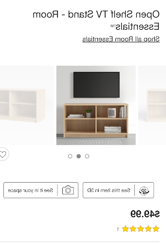 """Recent Basie 2 Door Corner Tv Stands For Tvs Up To 55"""" In Open Shelf Tv Stand Target : The Campbell Tv Stand (View 10 of 10)"""