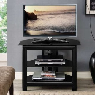 Recent Glass Shelves Tv Stands Regarding 14 Best Small Tv Stands For  (View 4 of 10)