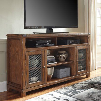 """Recent Laurel Foundry Modern Farmhouse Baggarly Tv Stand For Tvs Within Chrissy Tv Stands For Tvs Up To 75"""" (View 1 of 10)"""