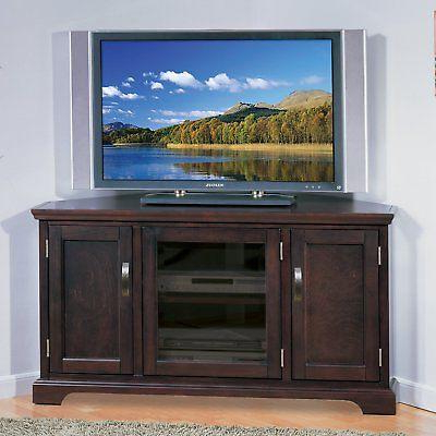 Recent Leick Riley Holliday Corner Tv Stand With Storage, In Bromley Black Wide Tv Stands (View 8 of 10)