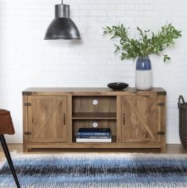 Recent Walmart Coupons (september 2021 Promo Code, Free Shipping Pertaining To Woven Paths Farmhouse Barn Door Tv Stands In Multiple Finishes (View 10 of 10)