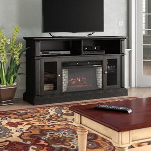 """Recent Winston Porter Muier Tv Stand For Tvs Up To 65"""" With Throughout Rickard Tv Stands For Tvs Up To 65"""" With Fireplace Included (View 2 of 10)"""