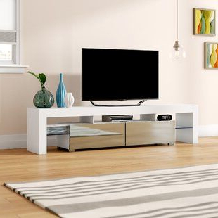 """Red Barrel Studio® Wesolowski Tv Stand For Tvs Up To 65 For Latest Caleah Tv Stands For Tvs Up To 65"""" (View 9 of 10)"""