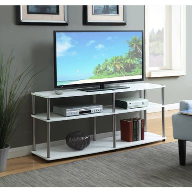 Rent To Own Convenience Concepts Designs 2go Black With Famous Tier Entertainment Tv Stands In Black (View 7 of 10)