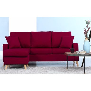 Rent To Own Mid Century Modern Small Space Sectional Sofa Within 2017 Verona Mid Century Reversible Sectional Sofas (View 1 of 10)