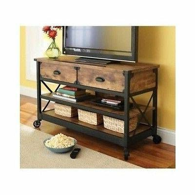 Rustic Vintage Tv Stand (View 4 of 10)
