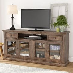 """Sainte Rose Tv Stand For Tvs Up To 75"""" (View 2 of 10)"""