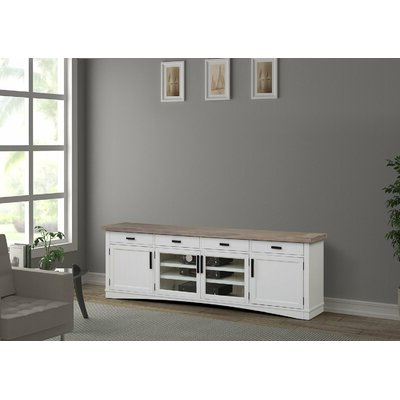 """Sand & Stable Abalone Tv Stand For Tvs Up To 88"""" & Reviews In 2017 Gosnold Tv Stands For Tvs Up To 88"""" (View 5 of 10)"""