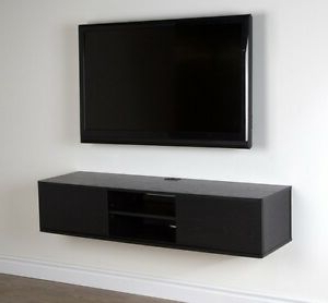 Scandi 2 Drawer White Tv Media Unit Stands In Recent Wall Mount Tv Stand Media Console Center Storage Shelves (View 3 of 10)