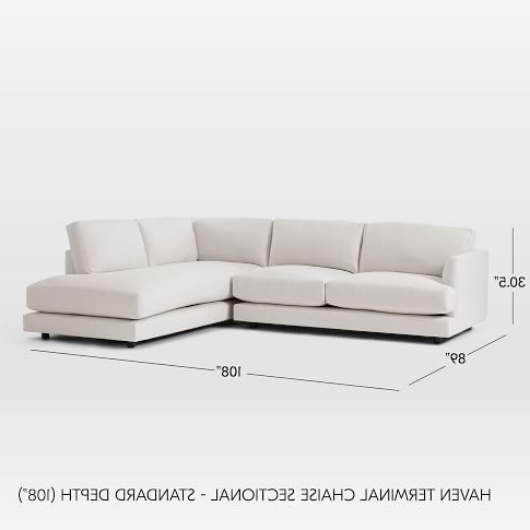 Sectional For Popular 2pc Connel Modern Chaise Sectional Sofas Black (View 7 of 10)
