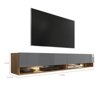 """Selsey Living Wander Tv Stand For Tvs Up To 78"""" & Reviews With Regard To Most Up To Date Tenley Tv Stands For Tvs Up To 78"""" (View 4 of 10)"""