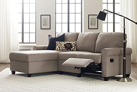 Serta 307703987r Copenhagen Reclining Right Storage Chais Inside Well Known Copenhagen Reclining Sectional Sofas With Left Storage Chaise (View 9 of 10)