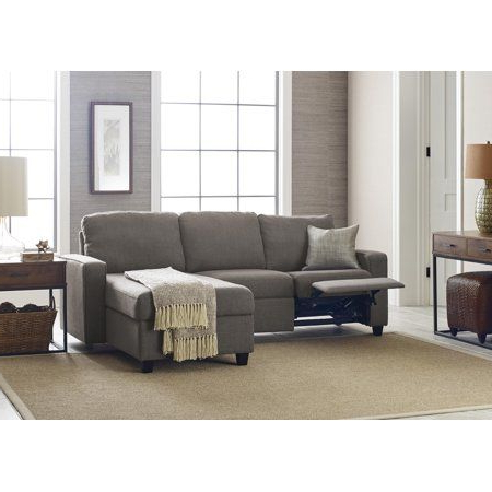 Serta Palisades Reclining Sectional With Right Storage Pertaining To Well Known Palisades Reversible Small Space Sectional Sofas With Storage (View 1 of 10)