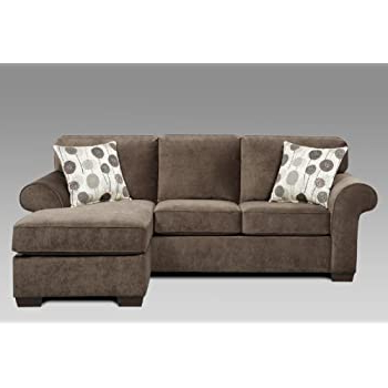 Setoril Modern Sectional Sofa Swith Chaise Woven Linen Inside Trendy Amazon: Chelsea Home Furniture Worcester Queen Sleeper (View 1 of 10)