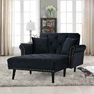 Setoril Modern Sectional Sofa Swith Chaise Woven Linen Within Current Amazon: Casa Andreamilano Modern Velvet Fabric Chaise (View 6 of 10)