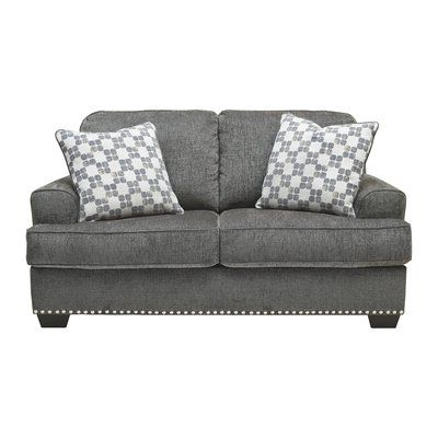Signature Design, Leather Intended For Hugo Chenille Upholstered Storage Sectional Futon Sofas (View 9 of 10)