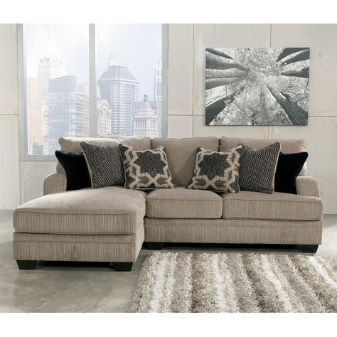 Signature Designashley Katisha – Platinum 2 Piece Inside Most Current 2pc Maddox Right Arm Facing Sectional Sofas With Cuddler Brown (View 3 of 10)