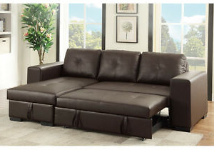 Small Sectional Sofa Reversible Storage Chaise Couch Pull With Well Liked Hartford Storage Sectional Futon Sofas (View 6 of 10)