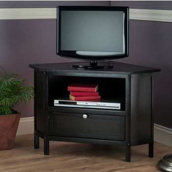 Solid Beech Wood Entertainment Centerswinsome Wood Regarding Widely Used Zena Corner Tv Stands (View 2 of 10)