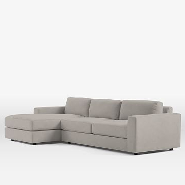 Somerset Velvet Mid Century Modern Right Sectional Sofas Pertaining To Well Known Urban Sectional Set 14: Xl Right Arm 2 Seater, Xl Left Arm (View 4 of 10)
