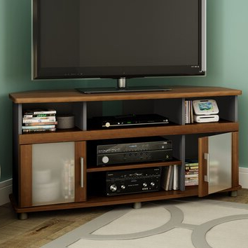 """South Shore City Life Corner Tv Stand For Tvs Up To 50 Regarding Most Popular Caleah Tv Stands For Tvs Up To 50"""" (View 6 of 10)"""