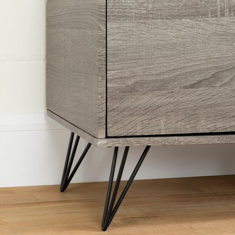 South Shore Evane Tv Stand With Doors For Tvs Up To 55 In Widely Used South Shore Evane Tv Stands With Doors In Oak Camel (View 5 of 10)