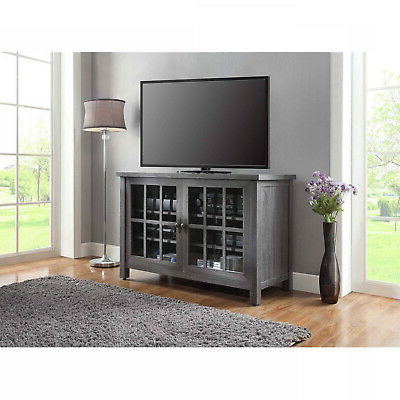 Tall Tv Stand Farmhouse Rustic Entertainment Center Within Recent Robinson Rustic Farmhouse Sliding Barn Door Corner Tv Stands (View 4 of 10)