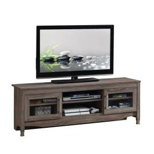 """Techni Mobili 53"""" Driftwood Tv Stands In Grey Inside Widely Used Techni Mobili Techni Mobili 53 In (View 3 of 10)"""