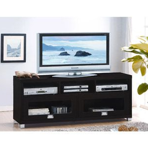 "Techni Mobili 58"" Durbin Tv Stands In Espresso Or Grey Wood In 2017 Techni Mobili 58"" Durbin Tv Stand For Tvs Up To  (View 10 of 10)"
