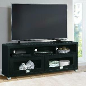 """Techni Mobili 58"""" Durbin Tv Stands In Espresso Or Grey Wood Inside Most Recent Techni Mobili 58"""" Durbin Tv Stand For Tvs Up To 75"""",black (View 5 of 10)"""