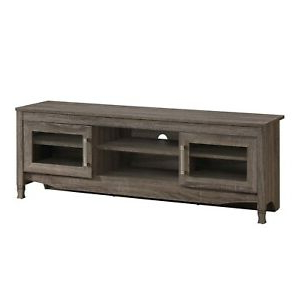 """Techni Mobili Driftwood Tv Stand Console For Tvs Up To 65 Within Most Up To Date Techni Mobili 53"""" Driftwood Tv Stands In Grey (View 9 of 10)"""
