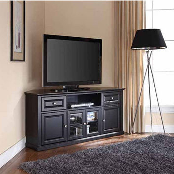 Television Stands Featuring Open Or Covered Storage In Most Up To Date Winsome Wood Zena Corner Tv & Media Stands In Espresso Finish (View 2 of 10)