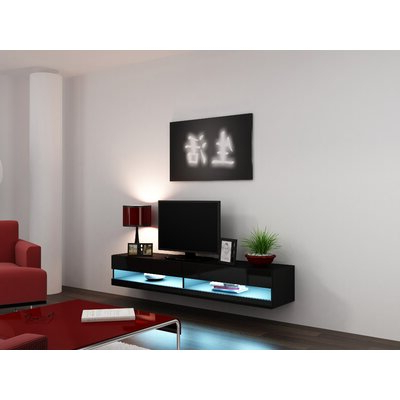 """Tenley Tv Stands For Tvs Up To 78"""" In Most Recent Orren Ellis Ailith Floating Tv Stand For Tvs Up To  (View 10 of 10)"""