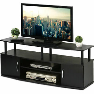 Tiva White Ladder Tv Stands Pertaining To Well Known Large Entertainment Center 50 Inch Wide Tv, Open Shelf (View 10 of 10)