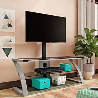 """Trendy Chrissy Tv Stands For Tvs Up To 75"""" With Orren Ellis Priebe Modica Modern Entertainment Center For (View 10 of 10)"""