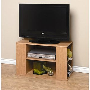 Trendy Doesn't Have To Be That Big Or That Small;) Just Needed Inside Sidmouth Oak Corner Tv Stands (View 6 of 10)