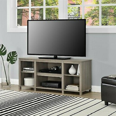 """Trendy Entertainment Cubby Tv Stand, Up To 50 Inch Tv, Light Oak With Lansing Tv Stands For Tvs Up To 50"""" (View 9 of 10)"""