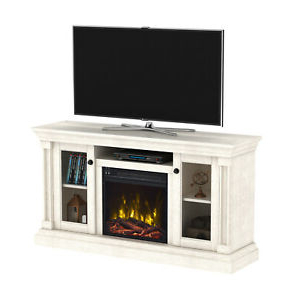 Trendy Fireplace Media Console Tv Stands With Weathered Finish With Regard To Electric Fireplace Media Center White Oak Tv Stand Wood (View 5 of 10)