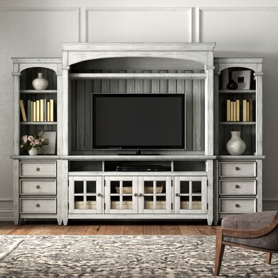 """Trendy Giltner Solid Wood Tv Stands For Tvs Up To 65"""" With 65 Inch Tv Stands & Entertainment Centers You'll Love In (View 4 of 10)"""