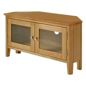 Tribeca Oak Tv Media Stand Throughout Most Current Alba Oak Corner Tv Stand – Corner Media Unit – Corner Tv (View 2 of 10)