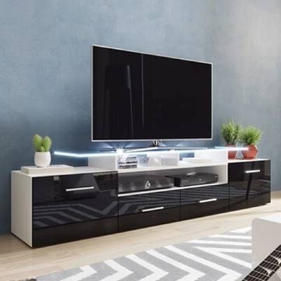 """Tv Mount And Tv Stands For Tvs Up To 65"""" Regarding Fashionable Orren Ellis Priebe Entertainment Center For Tvs Up To  (View 2 of 10)"""