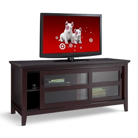 Tv Stand, Perfect Living Inside Widely Used Carson Tv Stands In Black And Cherry (View 9 of 10)