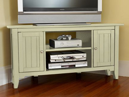Tv Stand Plans, Corner (View 2 of 10)