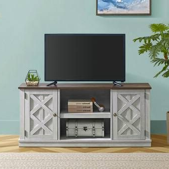 Tv Stand Wood, White Tv (View 8 of 10)